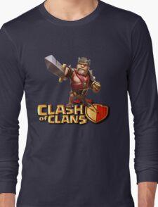 THE KING CLASH CLANS Long Sleeve T-Shirt