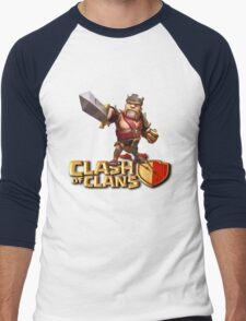 THE KING CLASH CLANS Men's Baseball ¾ T-Shirt