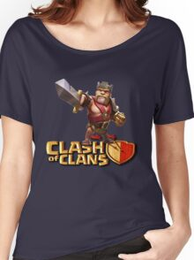 THE KING CLASH CLANS Women's Relaxed Fit T-Shirt