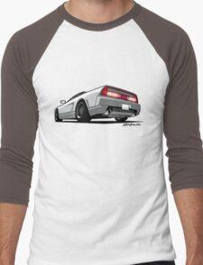 White Honda Acura NSX Men's Baseball ¾ T-Shirt