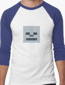 Minecraft - Custom Designed Skeleton Men's Baseball ¾ T-Shirt