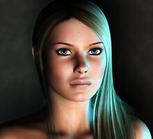 Kay in a Dramatic Light by JvanO