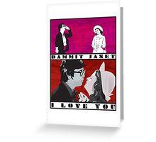 I Love You Greeting Card