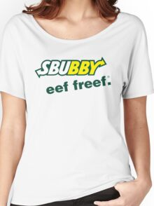 Sbubby - Eef Freef Women's Relaxed Fit T-Shirt