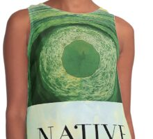Native Surfboard Contrast Tank