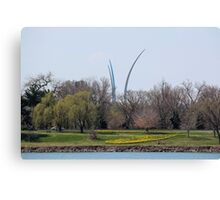 Air Force Memorial Canvas Print