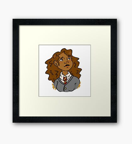 brightest witch of her age Framed Print