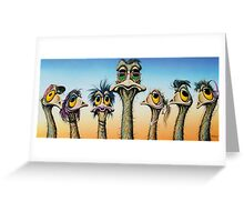 A Longneck & Six Stubbies Greeting Card
