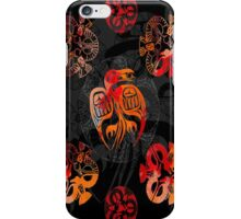 Crow mandalas 1 iPhone Case/Skin