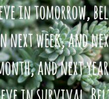 Joyful Survival Sticker