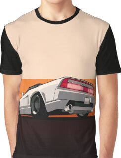 White Honda Acura NSX Graphic T-Shirt