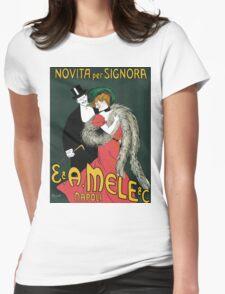 Vintage Novita per Signora 1903 - Leonetto Cappiello Womens Fitted T-Shirt