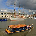 Bristol Harbour by RedHillDigital