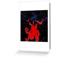 Cosmic Dance Greeting Card