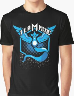Pokemon Go | Team Mystic Design| Black Background | New! | High Quality! Graphic T-Shirt