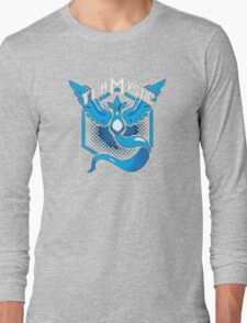 Pokemon Go | Team Mystic Design| Black Background | New! | High Quality! Long Sleeve T-Shirt