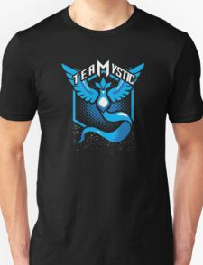Pokemon Go | Team Mystic Design| Black Background | New! | High Quality! Unisex T-Shirt
