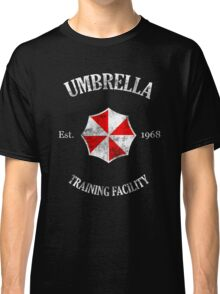 Umbrella Training Facility Vintage Resident Evil (for dark colors) Classic T-Shirt