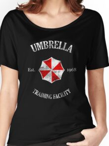 Umbrella Training Facility Vintage Resident Evil (for dark colors) Women's Relaxed Fit T-Shirt