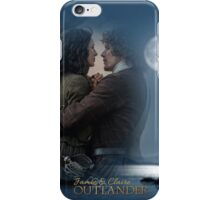 Outlander/Jamie and Claire collage iPhone Case/Skin