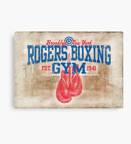 Rogers Boxing Gym Canvas Print