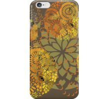 Floral mandalas iPhone Case/Skin