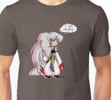 I hate everything - Sesshoumaru Unisex T-Shirt