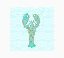Leonardo Lobster amidst the ocean waves Womens Fitted T-Shirt