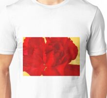 Red Carnation Macro Unisex T-Shirt