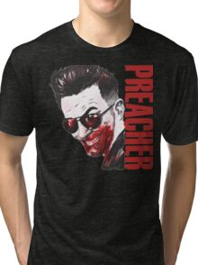 preacher - Arseface, Jesse, Tulip and Cassidy Tri-blend T-Shirt