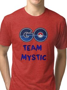 GO Team Mystic - Pokemon Go Tri-blend T-Shirt
