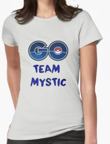 GO Team Mystic - Pokemon Go Womens Fitted T-Shirt
