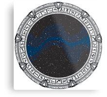 Stargate (black) Metal Print
