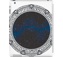 Stargate (black) iPad Case/Skin