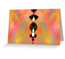 Lights Greeting Card