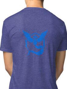 Pokemon Go team mystic back emblem Tri-blend T-Shirt