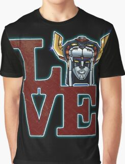 Love Voltron Graphic T-Shirt