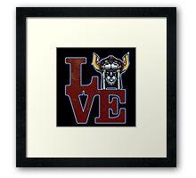 Love Voltron Framed Print