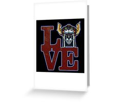 Love Voltron Greeting Card