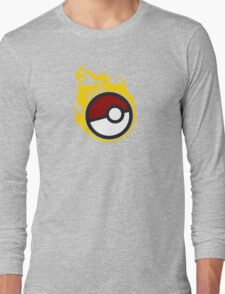 Poke Ball Team Instinct GOgear!  Long Sleeve T-Shirt