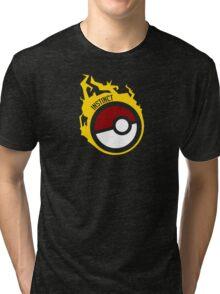 Poke Ball Team Instinct GOgear!  Tri-blend T-Shirt