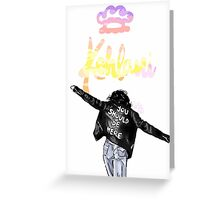Kehlani You Should Be Here Drawing Art Greeting Card