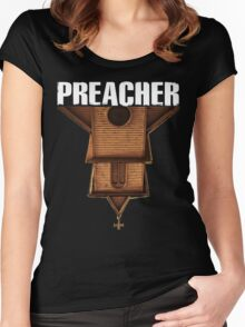 preacher - Arseface, Jesse, Tulip and Cassidy Women's Fitted Scoop T-Shirt