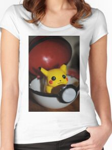 Pikachu Go! Women's Fitted Scoop T-Shirt