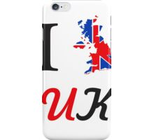 I Love England 578 iPhone Case/Skin