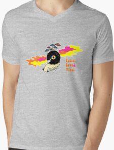Peace, Love and Vinyl! Mens V-Neck T-Shirt