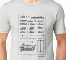 18th Century Diderot Plate - Menuserie - Carpentry - Workbench Unisex T-Shirt