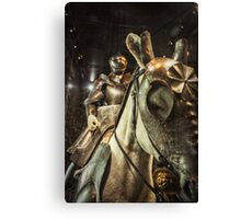 Knight in Shining Armour Canvas Print