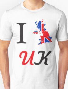 I Love England Unisex T-Shirt