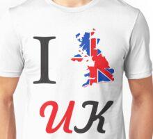 I Love England 578 Unisex T-Shirt